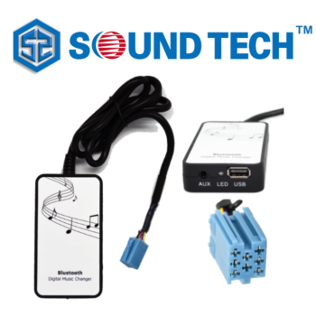 SoundTech BCH-VW-02 Music Interface for Factory Stereo through AUX / USB / Bluetooth