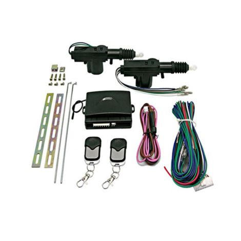 2 Door Remote Controlled Central Locking Kits 24V