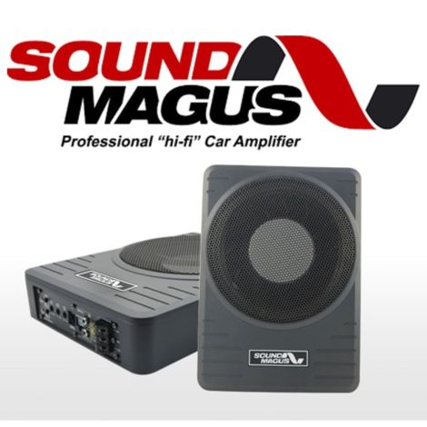 SoundMagus ASI-10 Under Car Seat Subwoofer 600W Max