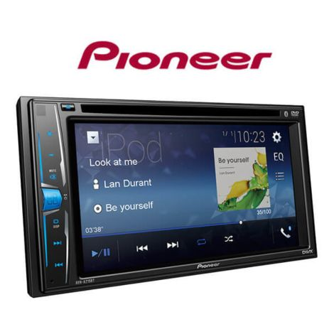 Pioneer AVH-A215BT 6.2 CD/DVD Receive with Bluetooth and Smart-Phone Link / iPhone, iPod Play Back