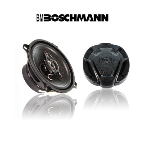 Boschmann XJ1-G535T3 5.25 Inch 3-Way Car Audio Speakers Pair 260W