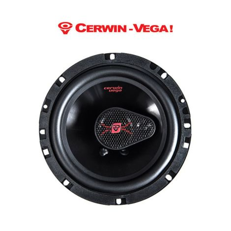 Cerwin Vega H4653 6.5 Inch HED Series 3-Way Coaxial Car Speakers 320W
