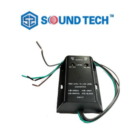 SoundTech CV-001 High to Low Converter with level adjustment