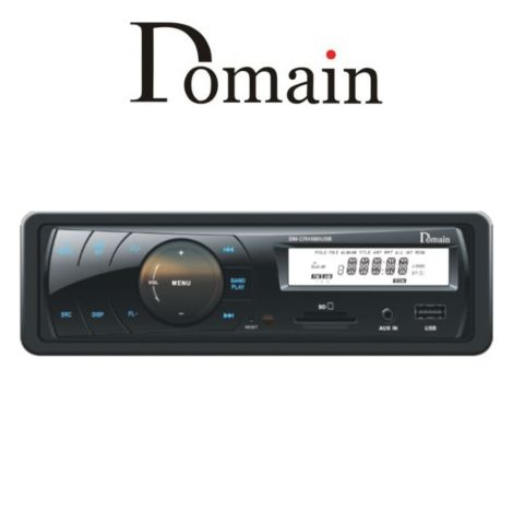 Domain DM-CR4880USB MP3 / WMA Playback Through USB / SD Card