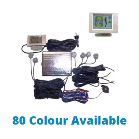 SoundTech QJ-668 Front & Rear Parking Sensor (Front 2 & Rear 4 Sensors), 80 Colours Available (Installed)
