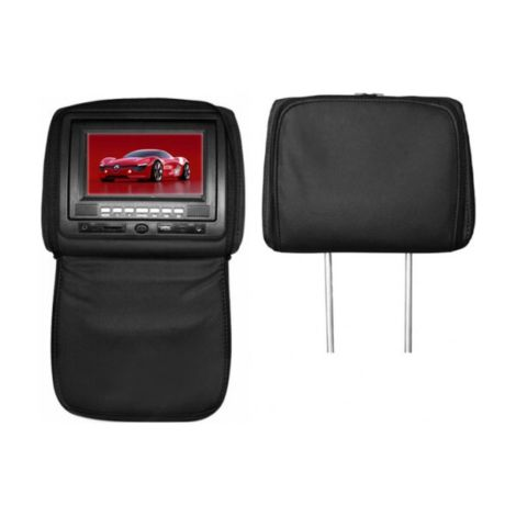 "7"" Headrest Monitor TM 770PL with Zip Cover (A pair)"