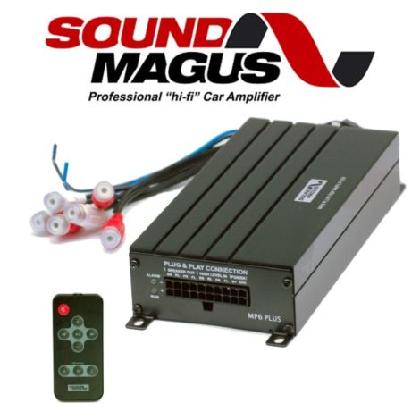Sound Magus MP6 Plus DSP Car Amplifier