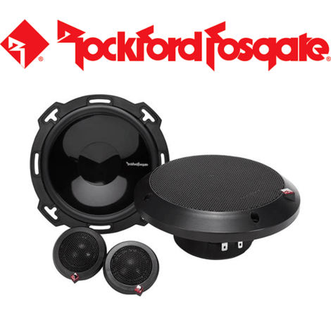 "Rockford Fosgate Punch P16-S 6.5"" Component Speakers 60W RMS 120W Peak"
