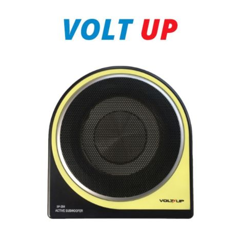 "VoltUp SP-204 8"" Active Subwoofer with Built-in Amplifier 350W Max"