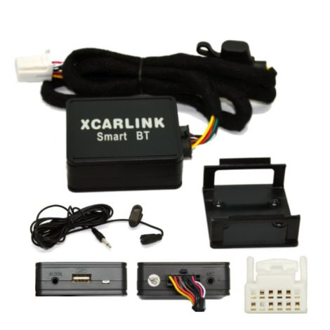 X Car Link-BT Music Interface for Factory Stereo through AUX / Bluetooth