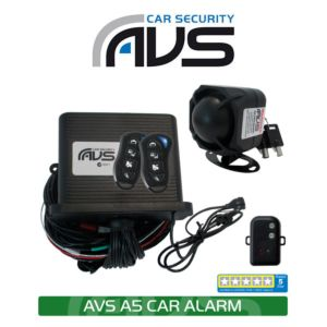 AVS A Series A5 Car Alarm with 2 Immobilizers 5 Star Rating (Installed)