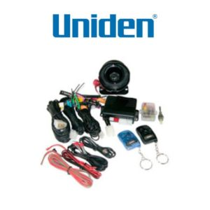 Uniden VS2600 5 Star Car Alarm with Back-up Siren & Glass Break Sensor (Installed)